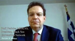 Pericles Mitkas (președintele Rețelei Universităților de la Marea Neagră)