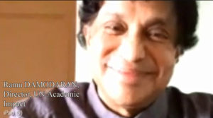 Ramu Damodaran (director al UN Academic Impact)