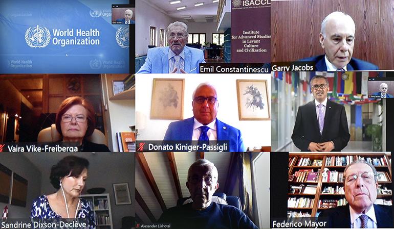 "Deschiderea oficială a conferinței ""Global Leadership for the 21st Century. Strategies for Transformative Global Leadership"""