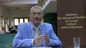 Emil Constantinescu (președintele Institutului de Studii Avansate pentru Cultura și Civilizația Levantului)