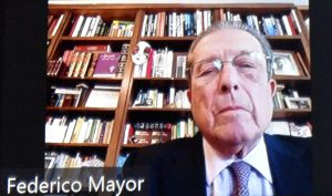 Federico Mayor (director- general UNESCO 1987-1999)