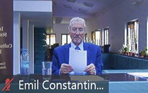 Emil Constantinescu, președintele Institutului de Studii Avansate pentru Cultura și Civilizația Levantului, președintele României 1996-2000