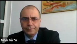"""prof. Mihai Gîrțu (prorector al Universității """"Ovidius"""" din Constanța)"""