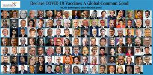 Apel pentru clasificarea imediată a vaccinelor împotriva virusului COVID-19 drept bunuri comune ale întregii umanități