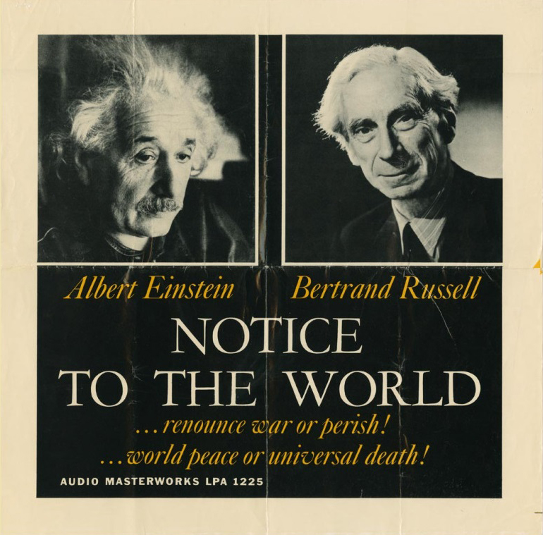 The contemporaneity of a manifesto launched 65 years ago by Bertrand Russell and Albert Einstein