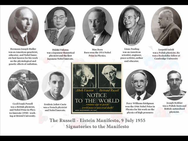 Actualitatea unui manifest lansat acum 65 de ani de Bertrand Russell și Albert Einstein