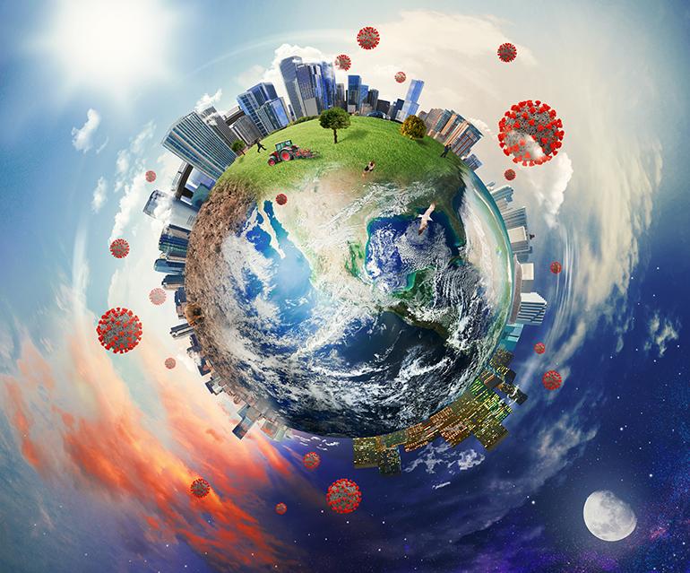Personalități cu înalt prestigiu internațional din Europa, America de Nord și de Sud, Asia, Africa și Australia prezintă puncte de vedere cu acoperire mondială