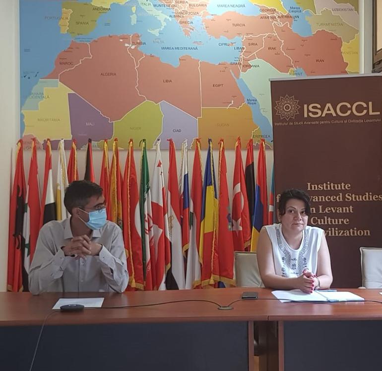 Studenți în stagiu de pregătire la Institutul Levant