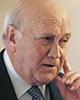 Frederik Willem de Klerk Președinte al Republicii Africii de Sud (1989-1994)