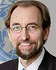 Zeid Raad al Hussein Înalt comisar al Organizației Națiunilor Unite pentru Drepturile Omului (2014-2018); Membru al grupului The Elders