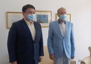 Ambasadorul Republicii Kazahstan, în vizită la Institutul de Studii Avansate pentru Cultura și Civilizația Levantului
