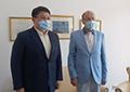 LEVANTUL – PUNTE ÎNTRE CIVILIZAȚIA EUROPEI OCCIDENTALE ȘI CEA A EXTREMULUI ORIENT. RENAȘTEREA CULTURALĂ A DRUMULUI MĂTĂSII. AMBASADORUL KAZAHSTANULUI, ÎN VIZITĂ LA ISACCL