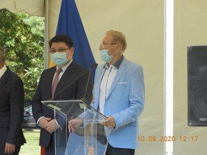 Inaugurarea Pieței Kazahstan din București și dezvelirea bustului poetului Abai Kunanbaev, întemeietorul literaturii naționale kazahe