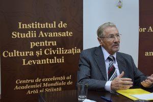 Emil Constantinescu Președintele Consiliului Științific al Institutului de Studii Avansate pentru Cultura și Civilizația Levantului