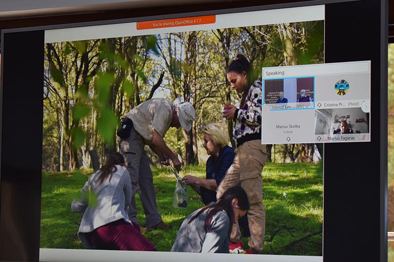 """Workshop online privind activitatea desfășurată încadrul programuluide master """"Conservarea biodiversității"""""""