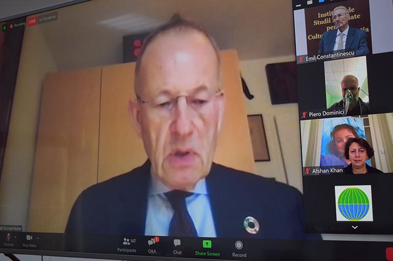 Michael Møller, Forumul pentru Diplomație, Fundația pentru Anticipare Științifică și Diplomatică de la Geneva