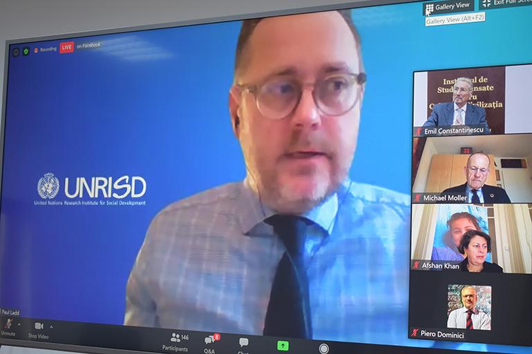 Paul Ladd, Director, Institutul pentru Dezvoltare Socială din cadrul Organizației Națiunilor Unite
