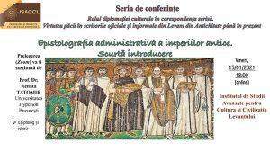 Epistolografia administrativă a imperiilor antice. Scurtă introducere