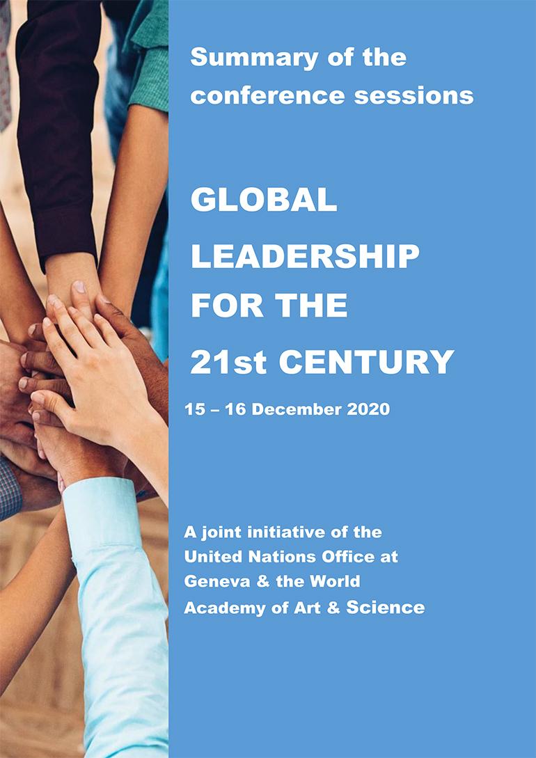 Raportul conferinței Global Leadership for the 21st Century, dat publicității de Biroul Organizației Unite de la Geneva