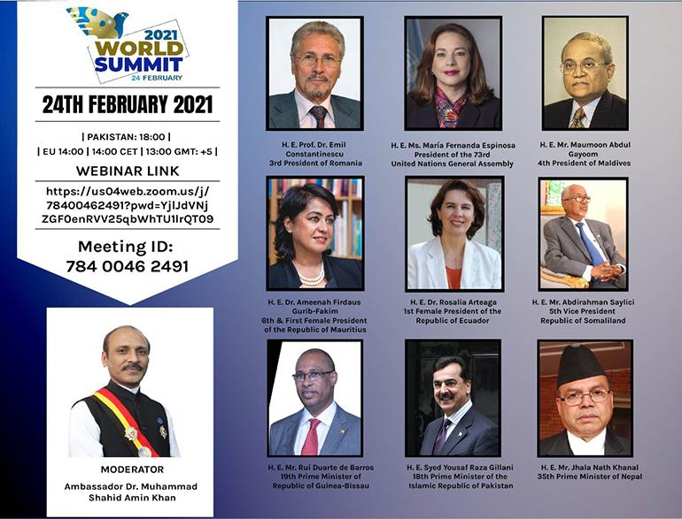 Emil Constantinescu la World Summit 2021. Despre crizele anului 2020 și drepturile omului