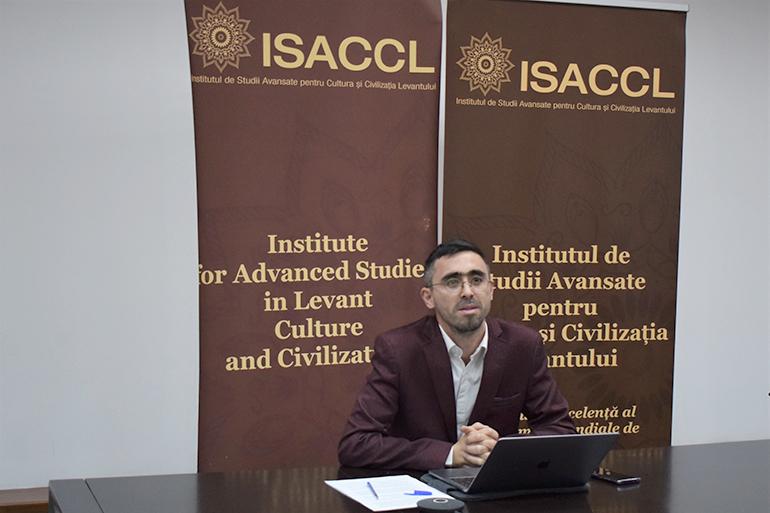 Cătălin Ștefan Popa directorul Directiei Istoria culturii și civilizației - The Lecture Series Levant Cradle of Abrahamic Religions