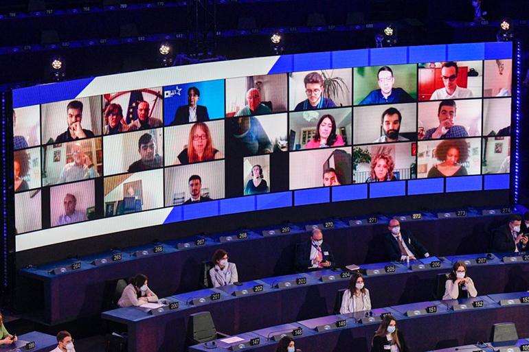 Prima reuniune plenară în cadrul Conferinței privind Viitorul Europei