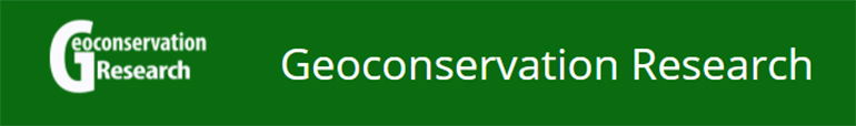 Semiannual journal of Geoconservation Research (GCR) is an international, single-blind, open access and peer-reviewed journal