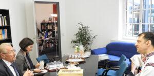Emil Constantinescu Cătălin Ștefan Popa Istoria recentă și anticiparea viitorului. Prezentarea proiectelor ISACCL la Institutul Cultural Român din Berlin